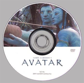 DVD自作レーベル