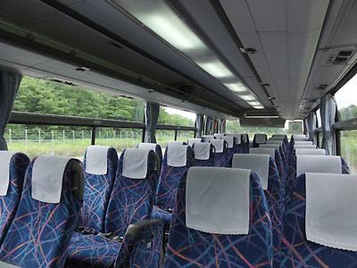 北都交通バス車内